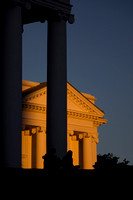East Wing of the Virginia State Capitol at sunset