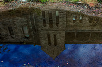 Byrd Park Pump House Reflection