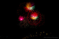 Fireworks Over the James River 2014